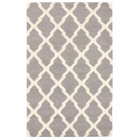 "5'0"" X 8'0"" Marrakech Rug in Cream and Gray - Beyond the Rack"