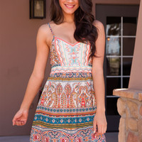 Chiara Aztec Dress