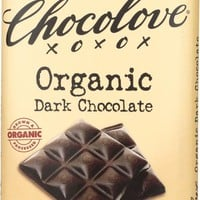 CHOCOLOVE: Organic Dark Chocolate Bar, 3.2 oz