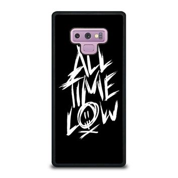 ALL TIME LOW LOGO Samsung Galaxy Note 9 Case