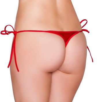 Roma Dancewear USA Bikini Bottom Side Ties One Size
