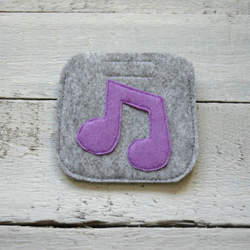 Earphone case, earbud case, cable holder, headphone case, felt pouch, phone accessories, earphone organizer, small gift idea