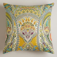 Venice Paisley Outdoor Throw Pillow