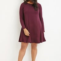 Raglan Trapeze Dress