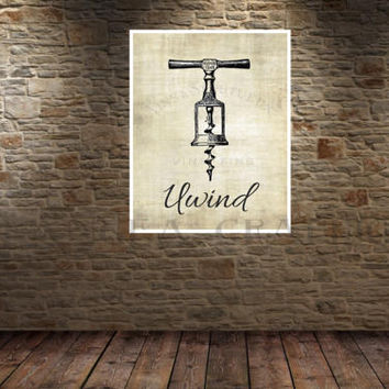Poster. Wine Print. French Country Decor. Farmhouse Decor. Farmhouse Wall Decor. French Country Wall Decor. Dining Room Wall Art. Wine. Vino