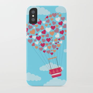 Hot Balloon iPhone Case by vanessavolk