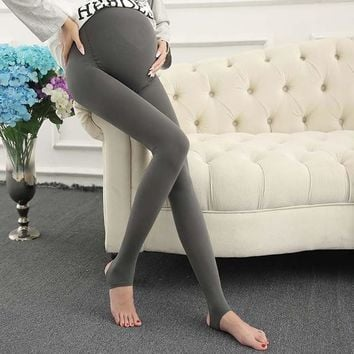 New Maternity Leggings With Stirrups.
