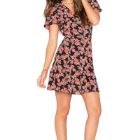 Privacy Please Amsterdam Mini Dress in Rosette