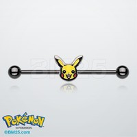 Pkachu Pokemon™ Blackline Industrial Barbell