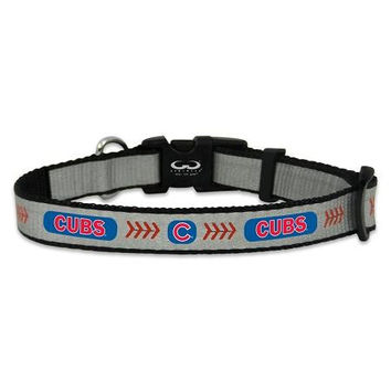 Chicago Cubs Reflective Nylon Dog Collar Size Toy