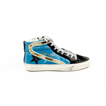 Multi Color 40 EUR - 10 US Golden Goose Womens High Sneaker G24D124 I3