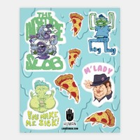 Gross People Stickers