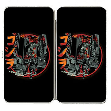 'Path of Destruction' Classic Movie Monster Parody - Taiga Hinge Wallet Clutch