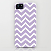 Lilac Chevron Pillow iPhone Case by Rex Lambo | Society6