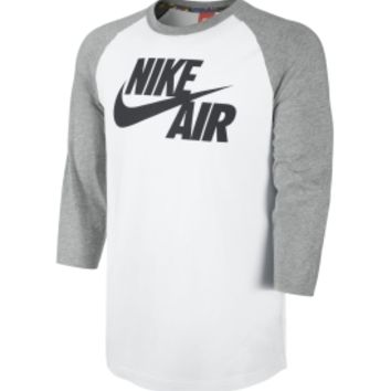 Nike Men's Air Three Quarter Sleeve Basketball Shirt - Dick's Sporting Goods
