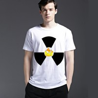 Summer Casual Round-neck Slim Strong Character Cotton Men's Fashion Short Sleeve T-shirts [6541825539]