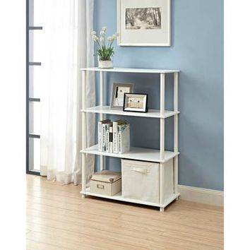 Mainstays No Tools 6-Cube Storage Shelf, Multiple Colors - Walmart.com