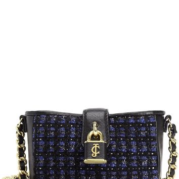 Regal/Black Tweed Mini Crossbody by Juicy Couture, No