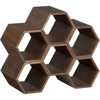 Set of 2 Hexa Stacking Wine Racks in Bar Accessories | Crate and Barrel