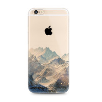 Snow Mountain Nice Scenery Nature iPhone 6s 6 Plus SE 5s 5 Case