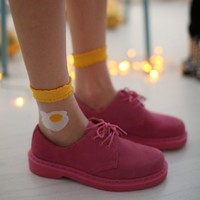 Eggs Crystal Socks