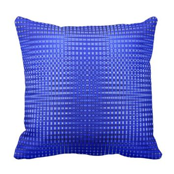 Color Diffusion Throw Pillow