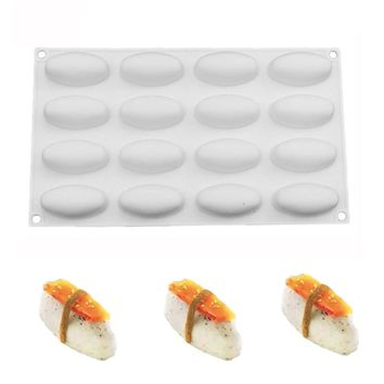 Silicone Sushi Nigiri Cake Molds For Dessert Chocolate Ice creams Baking Tools