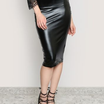 Bad Girl Midi Skirt - What's New at Gypsy Warrior