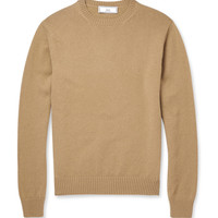 AMI - Knitted-Wool Crew Neck Sweater | MR PORTER