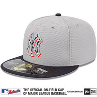 New York Yankees 2013 Authentic Collection Stars & Stripes Diamond Era 59FIFTY On-Field Game Cap - MLB.com Shop