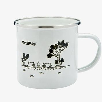 NatureHike Factory Store 2017 Vintage Outdoor Camping Mug - 3 Colors Available