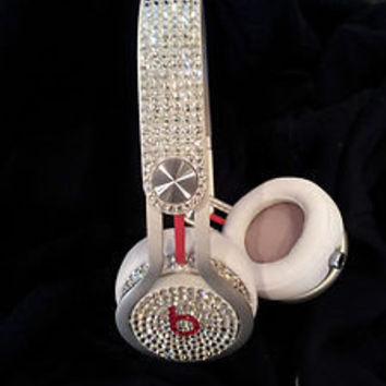 SWAROVSKI CRYSTAL BEATS BY DRE  MIXR   RED, WHITE, BLACK