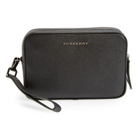 Burberry Dopp Leather Travel Bag