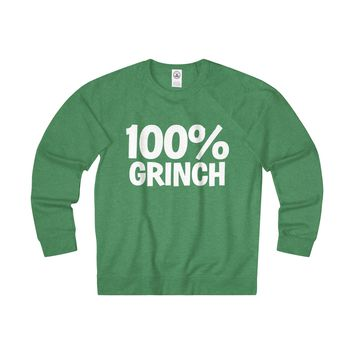 100% Grinch Christmas Sweatshirt