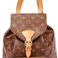 Louis Vuitton Montsouris Mm Backpack 5383 (Authentic Pre-owned)