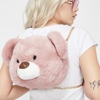 Teddy Luv Fuzzy Backpack
