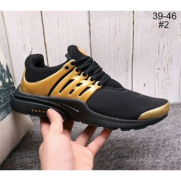 NIKE AIR PRESTO Breathable Casual Running Shoes for Men and Women F-A36H-MY #2
