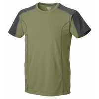 Mountain Hardwear Men's Berrino Short Sleeve T - Cool Moss/ Shark M