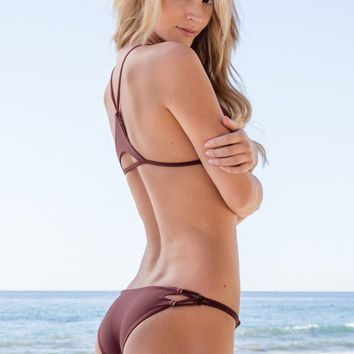 ACACIA SWIMWEAR - Nusa Bottom | Merlot