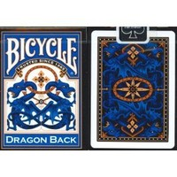 Bicycle Blue Dragon Back Playing Cards