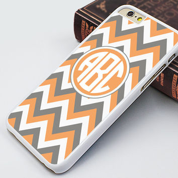chevron iPhone 6/6S case,orange chevron iPhone 6/6S plus case,signable iphone 5s case,customizable iphone 5c case,chevron iphone 5 cover,