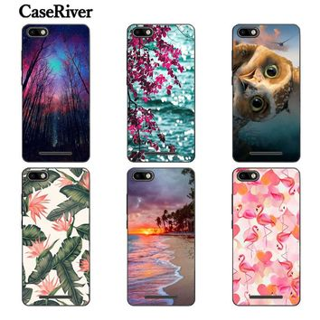 CaseRiver Soft Silicone Case For BQ Strike BQS-5020 High Quality Fashion Painted Phone Cover For BQ S 5020 BQS5020 Strike Cases
