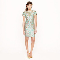 Collection jeweled gilded brocade dress - Cocktail - Women's dresses - J.Crew