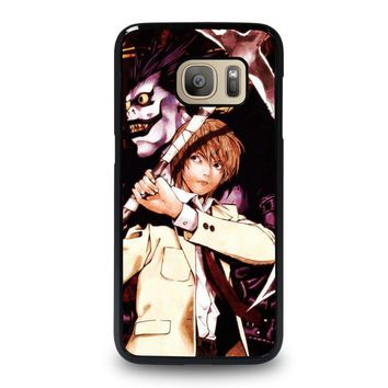 DEATH NOTE RYUK AND LIGHT Samsung Galaxy S7 Case Cover