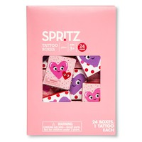 Valentine's Day Tattoo Boxes 24ct - Assorted Styles : Target