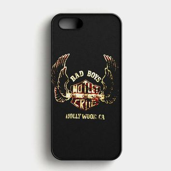 Motley Crue TShirt Tommy Lee American Rock Live Concert iPhone SE Case