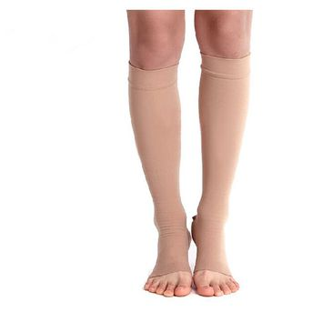 Free Shipping Lycra  Medical Compression Stocking Stovepipe Stocking 20-30mmhg