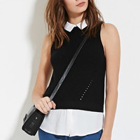 Collared Sweater Vest | Forever 21 - 2000150943