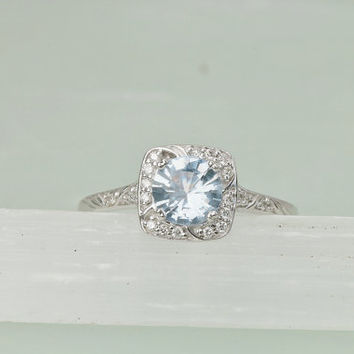 blue solitaire company jewelry ring ice sapphire file montana