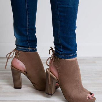 Party People Heels - Taupe
